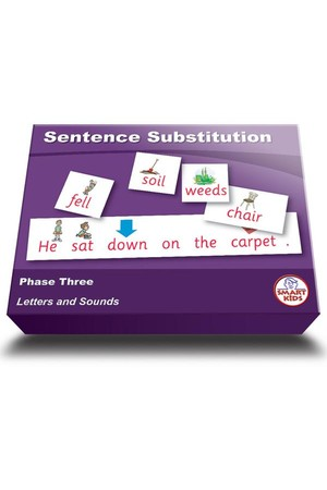 Sentence Substitution - Phase 3 (Letters and Sounds)