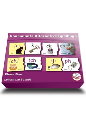 Consonant Alternative Spellings – Phase 5 (Letters and Sounds)