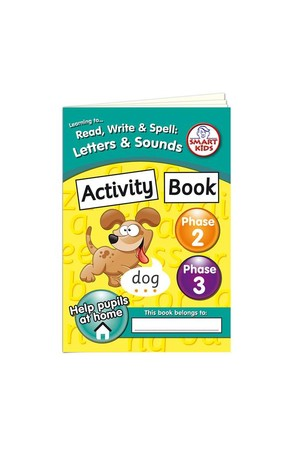 Activity Book – Phase 2 & 3 (Letters and Sounds)