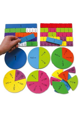 Magnetic Fractions Tiles