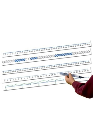 Magnetic Number Lines – Level 1