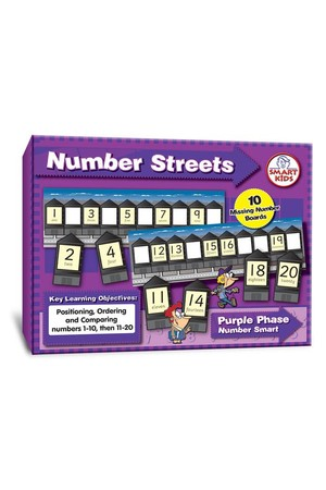 Number Streets to 20 (Number Smart)