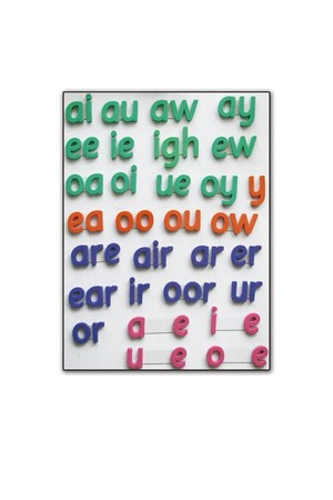 Phonics Tiles Print – Pack 3 (Foam Magnetic Letters)