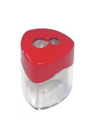Sovereign Sharpener - Metal Double with Canister (Box of 12)