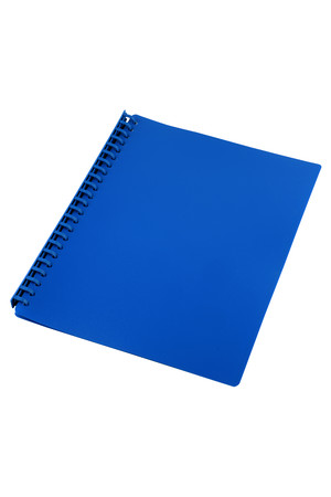 Sovereign Display Book (A4) - Refillable Navy Blue: 20 Pocket (Box of 10)