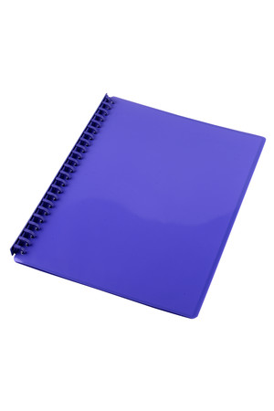 Sovereign Display Book (A4) - Refillable Gloss Purple: 20 Pocket (Box of 10)