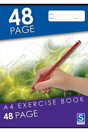 Sovereign Exercise Book (A4) - 8mm Ruled: 48 Pages (Pack of 20)