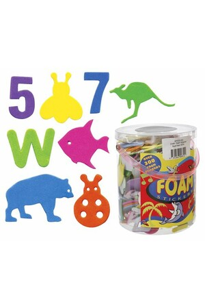 Foam Adhesive Shapes - Pack of 300