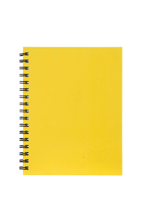 Spirax Notebook 511 - A5 Hardcover: Yellow (Pack of 5)