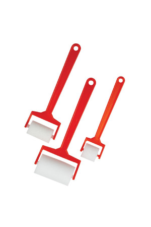 Sponge Roller 60mm Red Handle