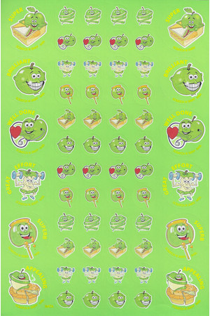 ScentSations Green Apple Stickers