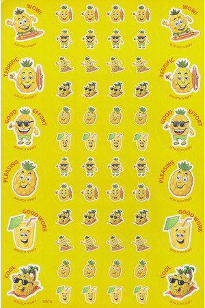 ScentSations Pineapple Stickers