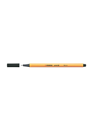 Stabilo Pen - Point 88 Fineliner (0.4mm): Black (Box of 10)