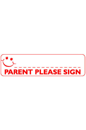 Parent Please Sign Teacher Stamp