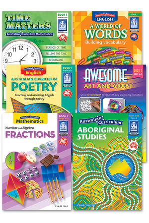 Australian Curriculum BLM Super Pack 2 - Year 1