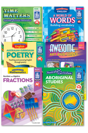 Australian Curriculum BLM Super Pack 2 - Year 2
