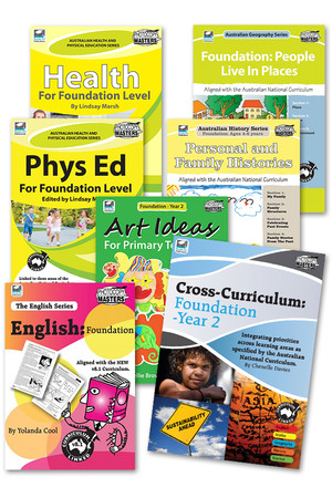 Australian Curriculum BLM Super Pack 3 - Foundation