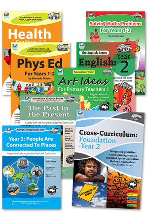 Australian Curriculum BLM Super Pack 3 - Year 2