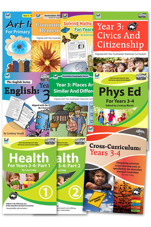 Australian Curriculum BLM Super Pack 3 - Year 3