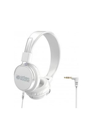 Verbatim Headphones - Urban Sound Volume Limiting: White/White
