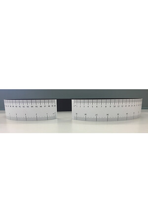Flexible Magnetic Ruler - Pack of 10