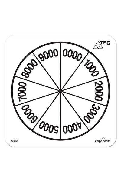 Swap + Spin Insert - Place Value 0000-9000