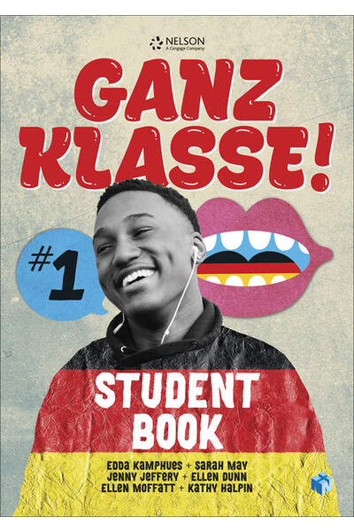 Ganz Klasse! 1 - Student Book with 1 Access Code for 26 Months (Print & Digital)