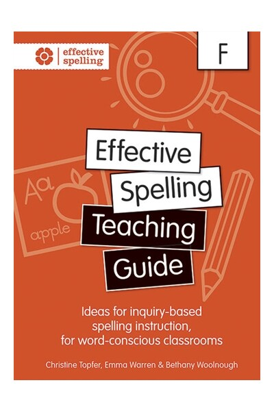 Effective Spelling - Teaching Guide: Foundation