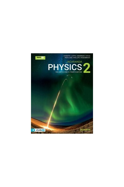 Jacaranda Physics 2 VCE - Units 3 & 4 4E learnON & Print (includes free studyON)