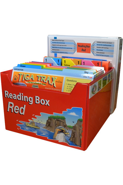 Reading Box Red - Years 4 & 5
