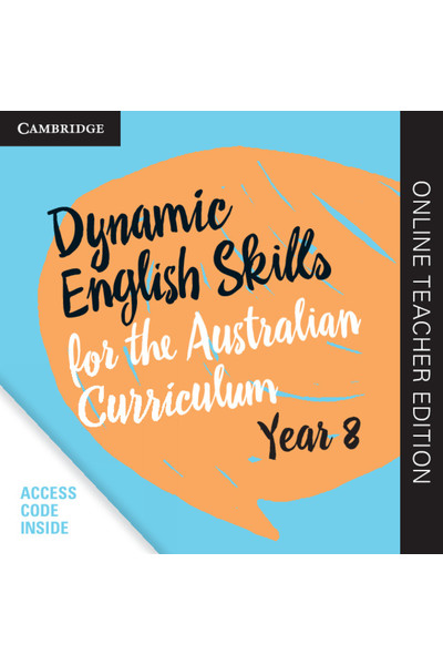 Dynamic English Skills for the AC - Year 8: Teacher Edition (Digital Access Only)
