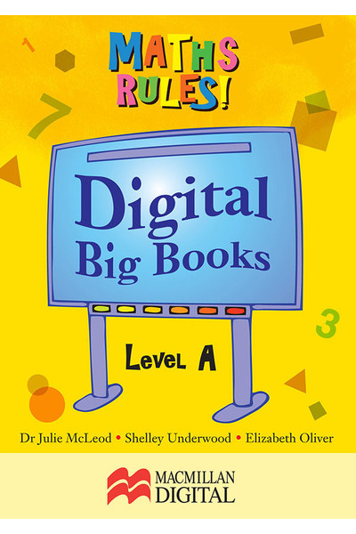 Maths Rules! - Digital Big Books: Level A