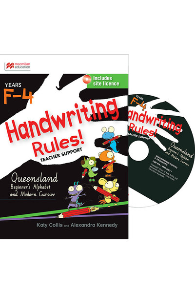 Handwriting Rules! - Queensland Beginner's Modern Cursive: Teacher Support CD (F-4)
