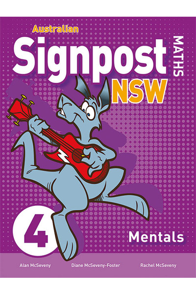 Australian Signpost Maths NSW (Second Edition) - Mentals Book: Year 4