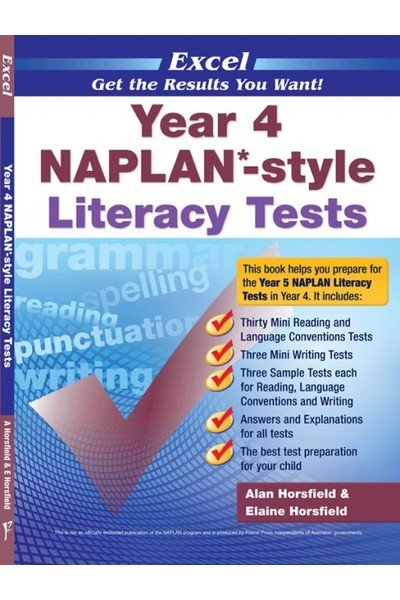 Excel - NAPLAN* Style Literacy Test: Year 4
