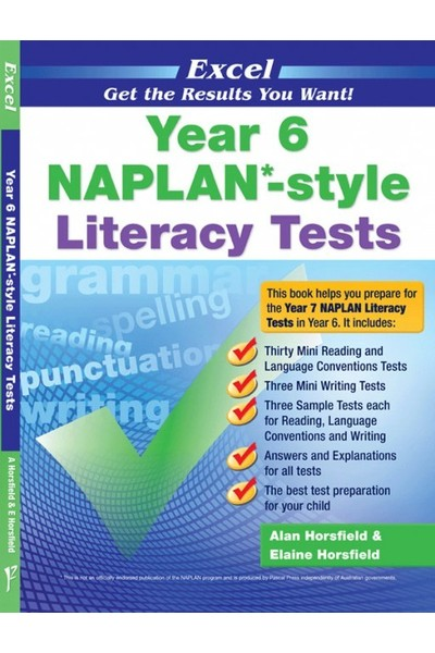 Excel - NAPLAN* Style Literacy Test: Year 6