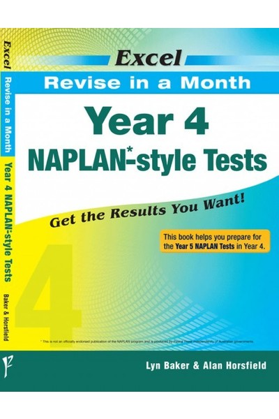 Excel - Revise in a Month - NAPLAN*-style Test: Year 4