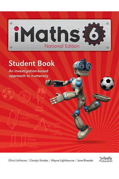 iMaths - Student Book: Year 6