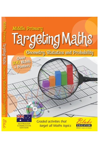 Targeting Maths - Teacher Resource Books: Middle Primary - Geometry, Statistics and Probability