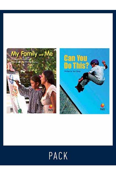 Flying Start to Literacy: Guided Reading - My Family and Me & Can You Do This? - Level 2 (Pack 11)