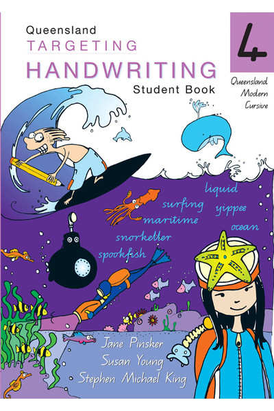 Targeting Handwriting QLD - Student Book: Year 4