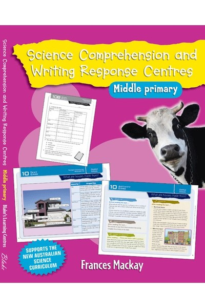 Blake's Learning Centres - Science Comprehension and Writing Response Centres: Middle