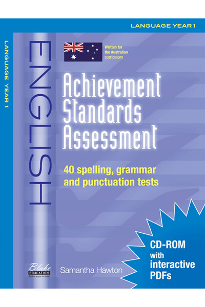 Achievement Standards Assessment - English: Language - Year 1