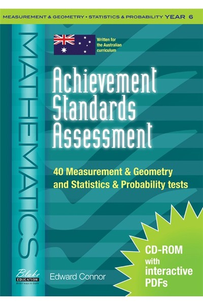 Achievement Standards Assessment - Mathematics: Measurement & Geometry and Statistics & Probability - Year 6