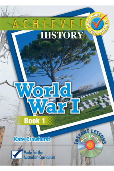Achieve! History - World War I Book 1