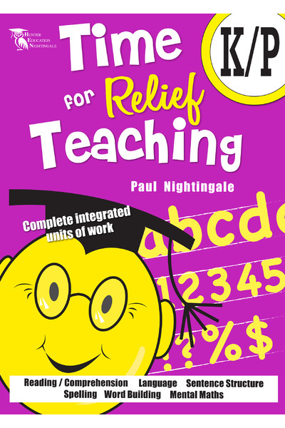 Time for Relief Teaching - Foundation / Kindergarten