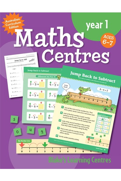 Blake's Learning Centres - Maths Centres: Year 1