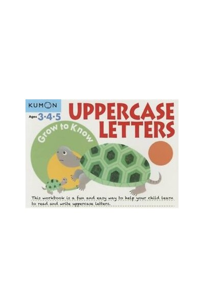 Grow to Know Uppercase Letters: Ages 3-5