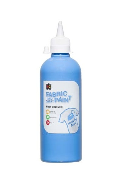Fabric And Craft Paint 500ml - Sky Blue