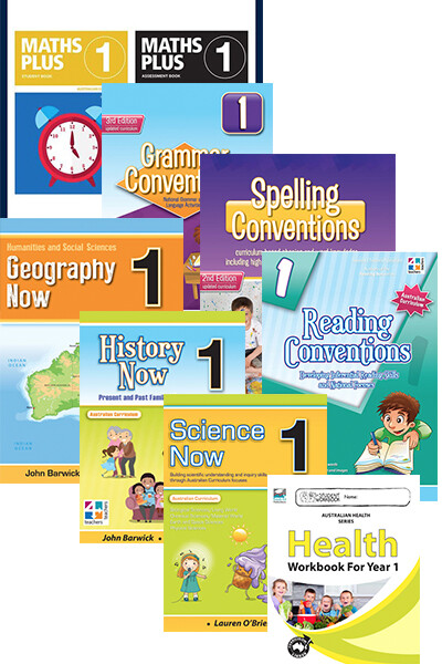 Home Education Bundle - Australian Curriculum: Year 1